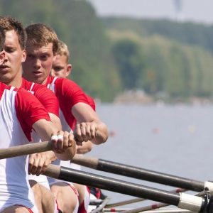 four rowing team