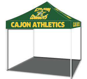 Custom Sports Display Tents