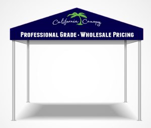online custom canopy tents