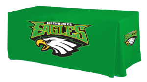Design custom sports table covers online